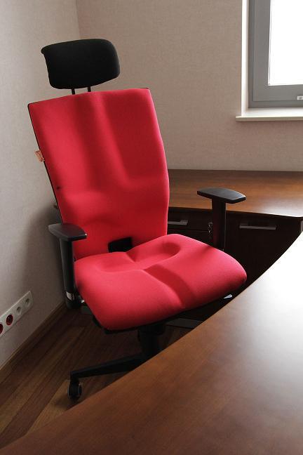 Wygodny fotel biurowy Elegance stanowisko pracy