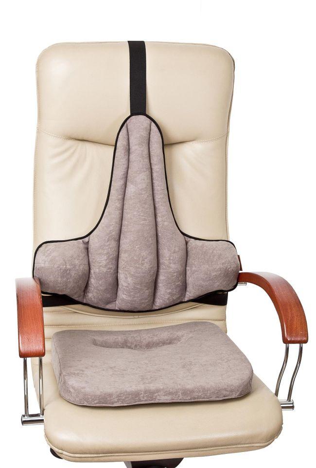 Nakładki na krzesła firmy Kulik System pomagają w walce z bólem kręgosłupa